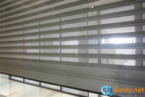 perforated aluminum roll up door