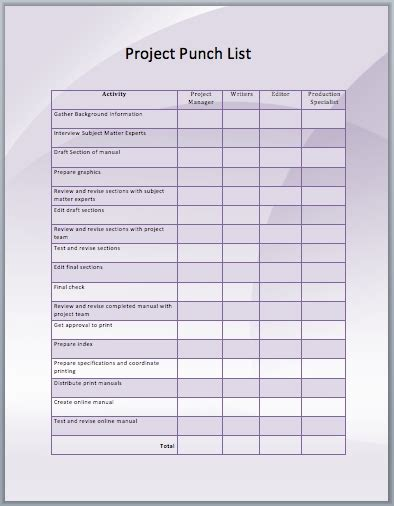 project listing template conspect snag list template snag list report sle snag
