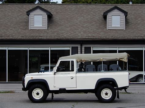 land rover defender 110 convertible 1985 land rover defender 110 convertible copley motorcars