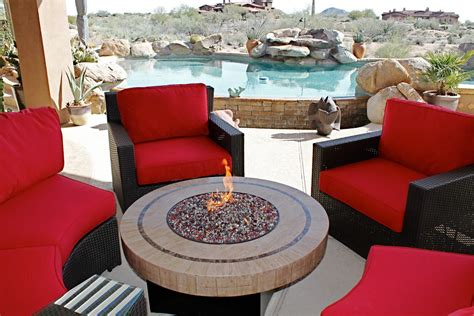 patio furniture with pit table lawn garden patio gas pit table and patio