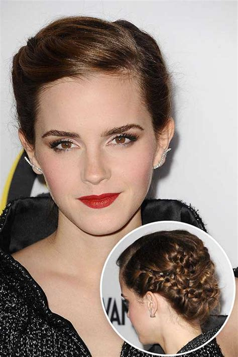 emma watson updo 15 best prom hairstyles hairstyles haircuts 2016 2017