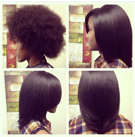 agave straightening black woman review flat ironed natural hair http blackhair cc 1jsy2ux