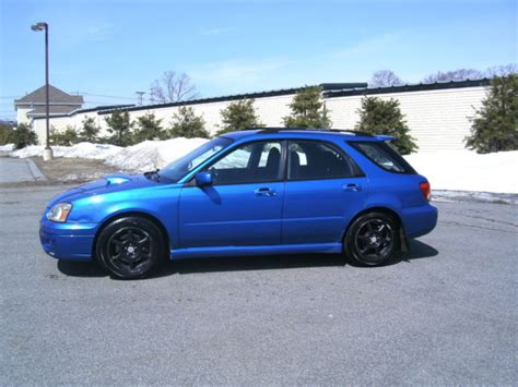 2005 subaru impreza wagon 2005 subaru impreza wagon wrx awd turbo 5 speed runs and