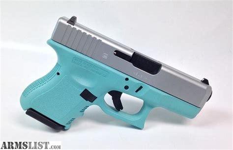 colored handguns armslist for sale blue glock 26 gen3 9mm handgun