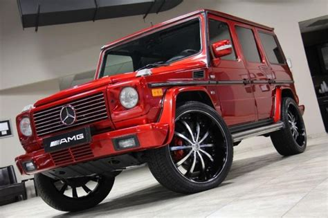mercedes jeep custom 2002 mercedes g500 4dr suv front left view rides