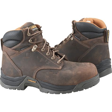 safety toe work boots carolina s waterproof safety toe work boots 6in