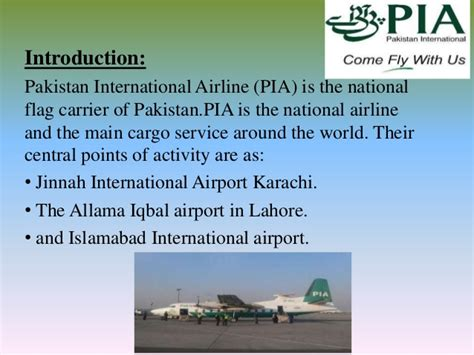 American Airlines Mba Internship by Financial Statements Of Pia