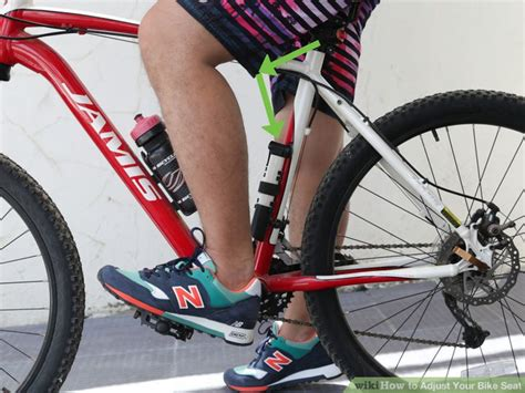 bicycle seat adjustment how to adjust your bike seat