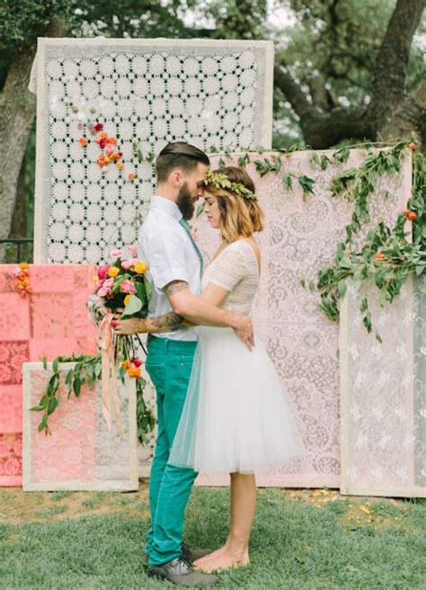 Wedding Lace Backdrop by Diy Wedding Backdrops Dinner 4 Two