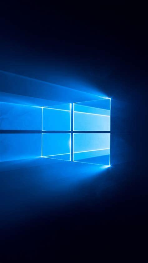 windows   wallpaper dark blue   technology