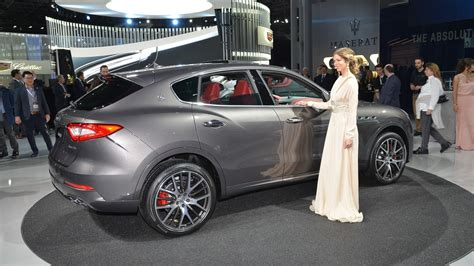 Maserati New York by Maserati Levante Makes U S Debut In Nyc Motor1