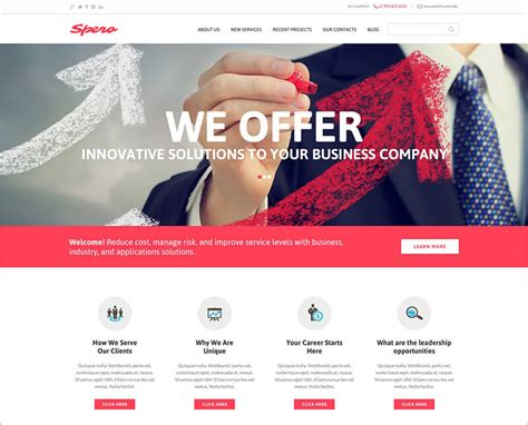drupal themes responsive business 36 best creative drupal themes free website templates