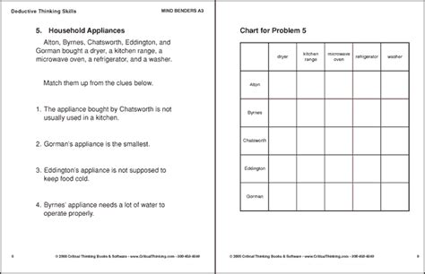 printable deduction puzzles for adults mind benders a3