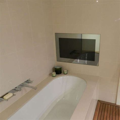 bathroom television mirror previous next bathroom tvs how to install a waterproof