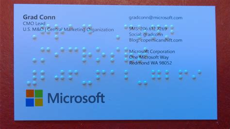 Microsoft Gift Card - 187 my braille business cards my grandfather dziadzi and microsoft accessibility and