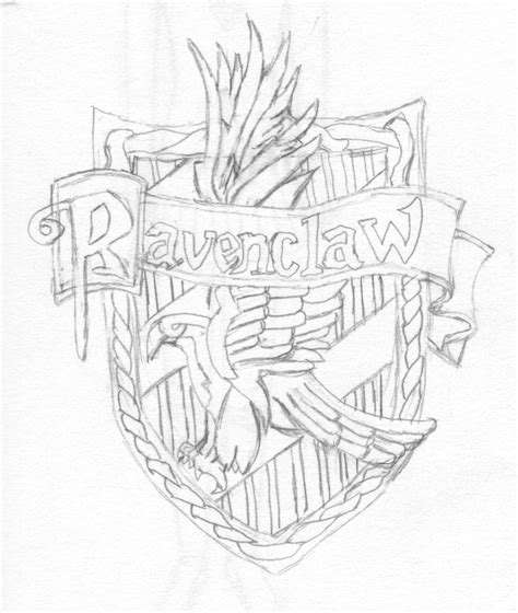 coloring pages harry potter ravenclaw ravenclaw coloring pages coloring pages