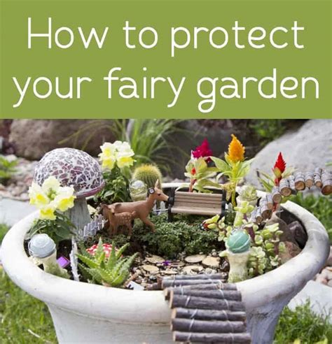 how to protect your fairy garden mod podge rocks