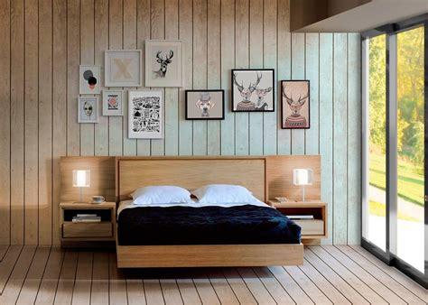 nordico cama dormitorio nordico cabecero madera iceland