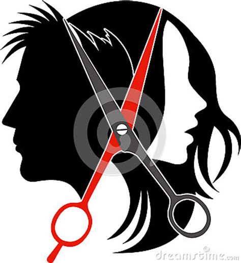 salon concept logo vector illustration cartoondealer com