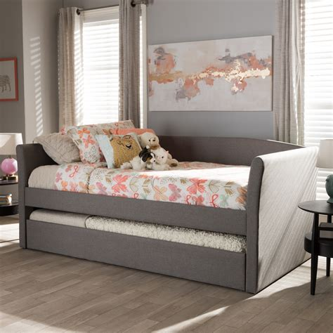 upholstered daybeds that look like sofas couch trundle bed magnificent twin daybed frame with pop