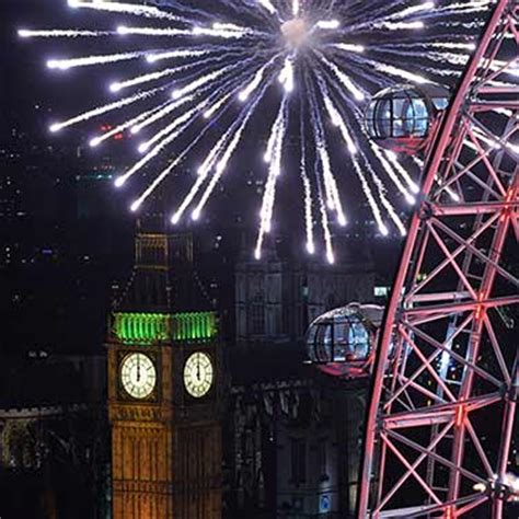 world celebrates new year