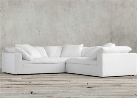 restoration hardware sofa for sale superb restoration hardware cloud modular slipcovered sofa