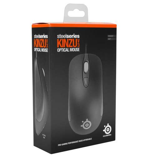 Mouse Steelseries Kinzu V3 Black steelseries kinzu v3 gaming mouse black in stock