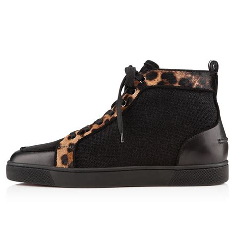 christian louboutin sneakers for christian louboutin rantus orlato leopard pony sneakers