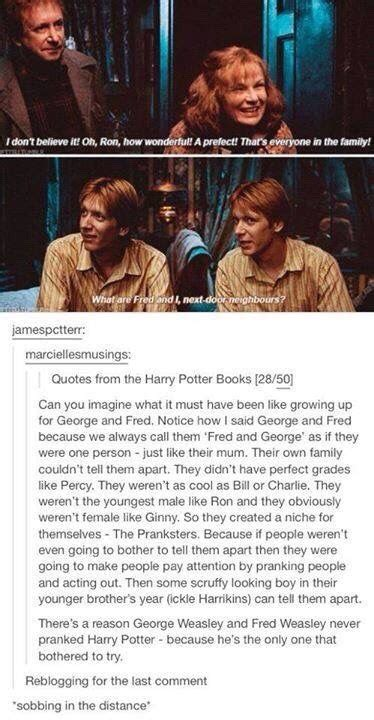 harry potter imagines tumblr george and fred weasley imagines tumblr