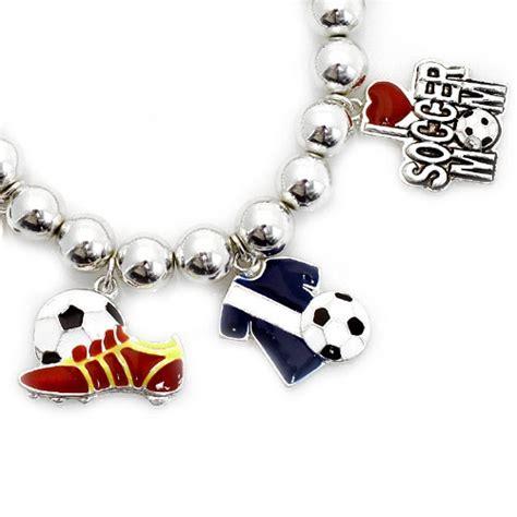 17 best images about soccer charm bracelet on