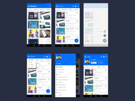 remodeling apps behance app with material design uplabs
