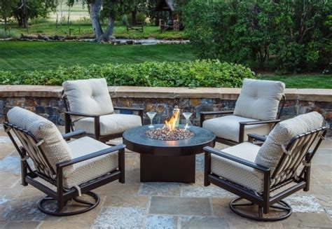 patio furniture with pit table patio furniture pit table set pit ideas