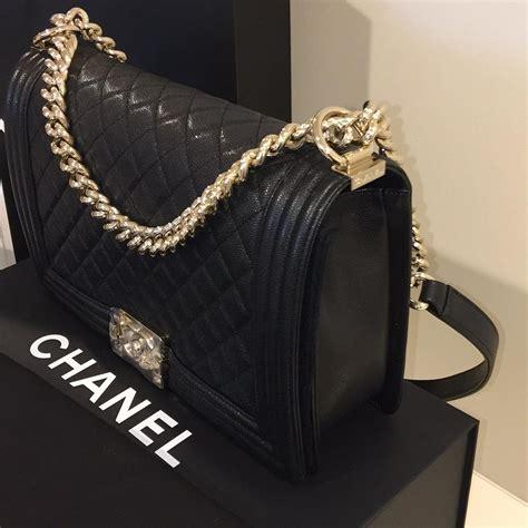 Sale Chanel Boy 228 chanel caviar le boy new medium brand new chagne hardware shoulder bag shoulder bags on sale