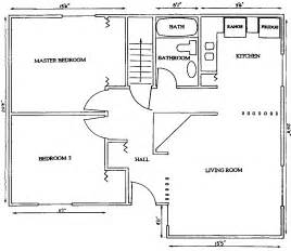 2 bedroom floor plan floor plans