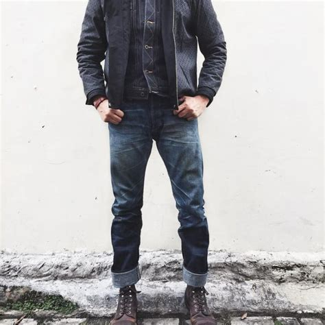 the rugged look 45 lively ways to style pinroll cuffing your perfectly