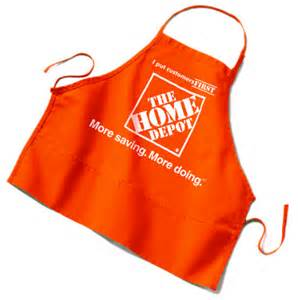 home depot apron 301 moved permanently