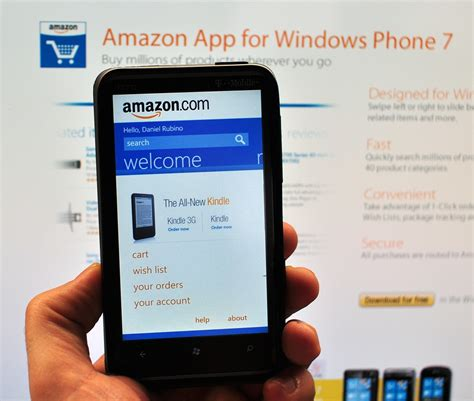 amazon app amazon mobile app for windows phone gets social in a new