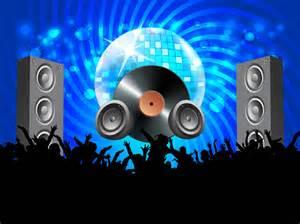Big Snowflakes Decorations Vector Disco Party