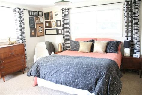 classic mid century master bedroom design with king size my mid century master bedroom