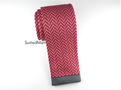knitted ties next knit tie herringbone suitedman