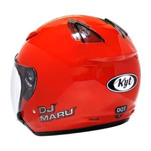 Helm Kyt Dj Maru Solid Clear helm kyt dj maru solid pabrikhelm jual helm murah
