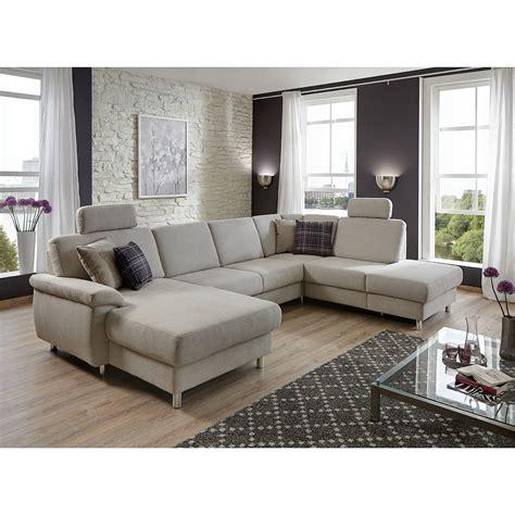 u form grau wohnlandschaft winston ecksofa sofa polsterm 246 bel u form in
