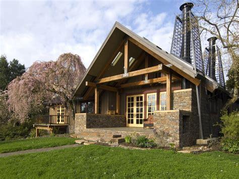 stone cottage   woods wood  stone house exteriors