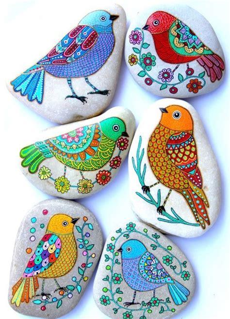 Steine Zum Bemalen steine bemalen 40 ideen f 252 r originelles basteln mit steinen
