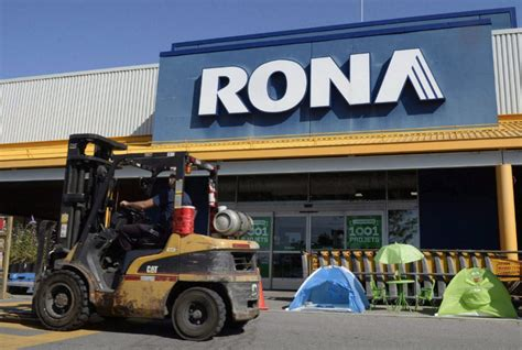 sale of rona to lowe s cleared by ottawa toronto