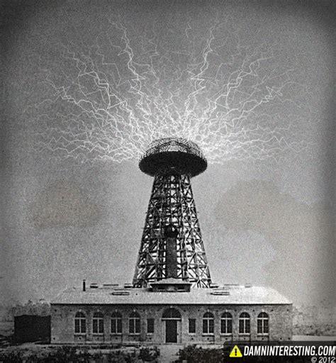 Tesla Electricity Tower Tesla S Tower Of Power Damn Interesting