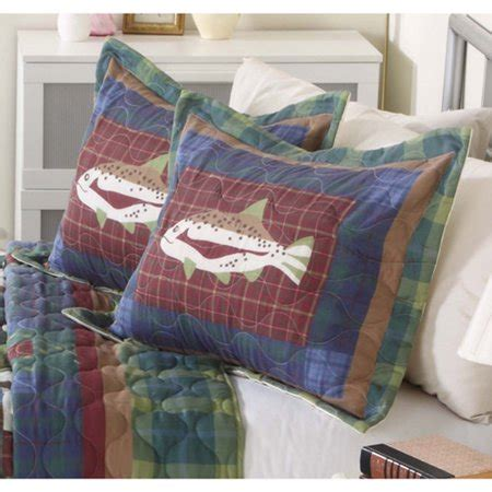 mainstays quilt collection  fishing walmartcom