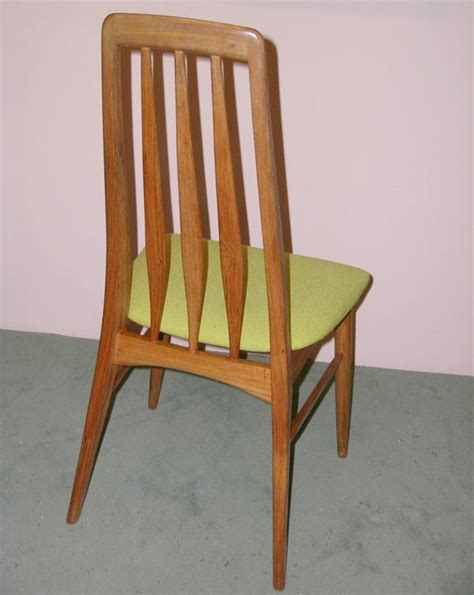 teak dining room furniture set of four danish modern teak dining room chairs for sale at 1stdibs