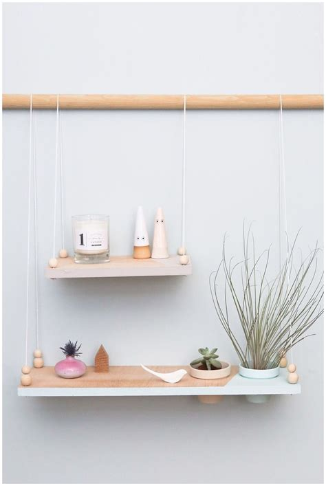 Hanging Ceiling Shelves by Diy Ceiling Suspended Shelves Diy Do It Your Self
