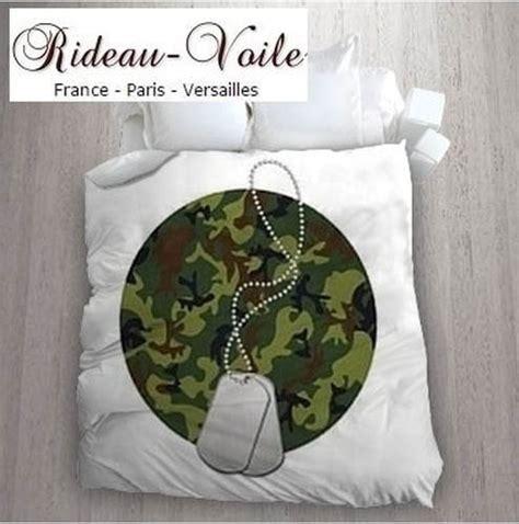 Housse De Couette Militaire by Housse Couette Camouflage Militaire Rideaux Et Tissus